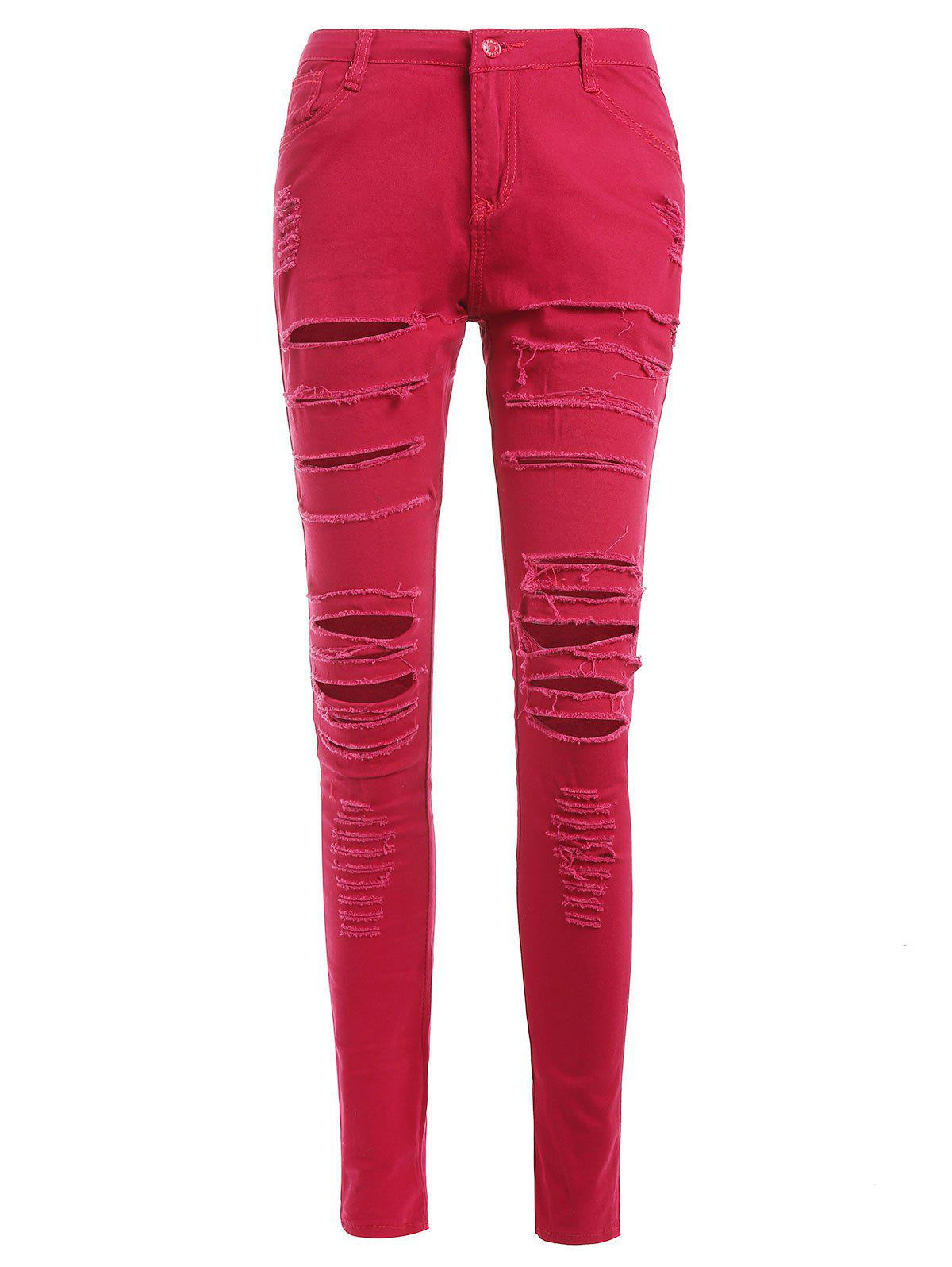 Latest Slim Distressed Jeans