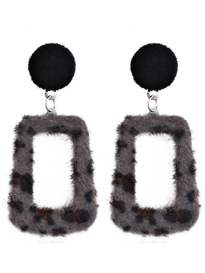 Outfits Hollow Out Leopard Pendant Earrings