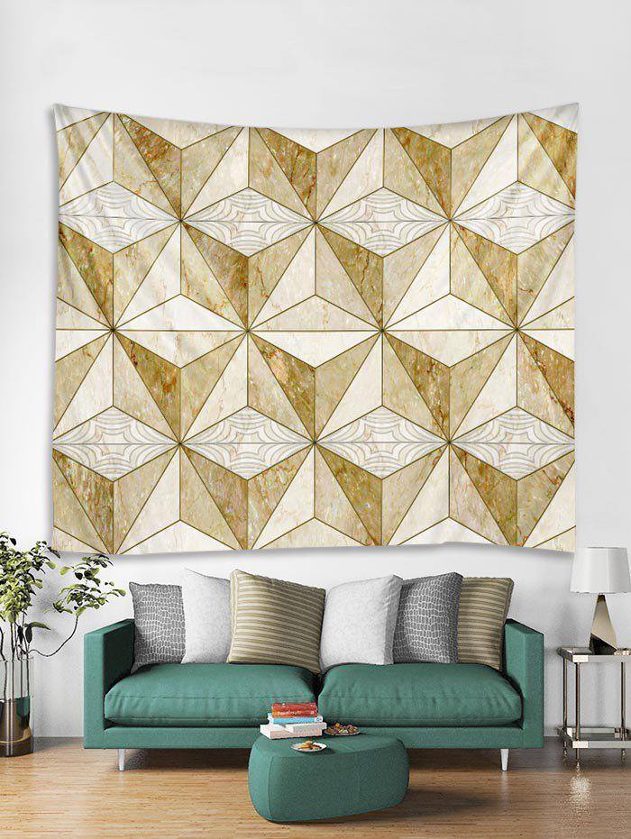 Discount 3D Cube Print Wall Tapestry Art Decoration
