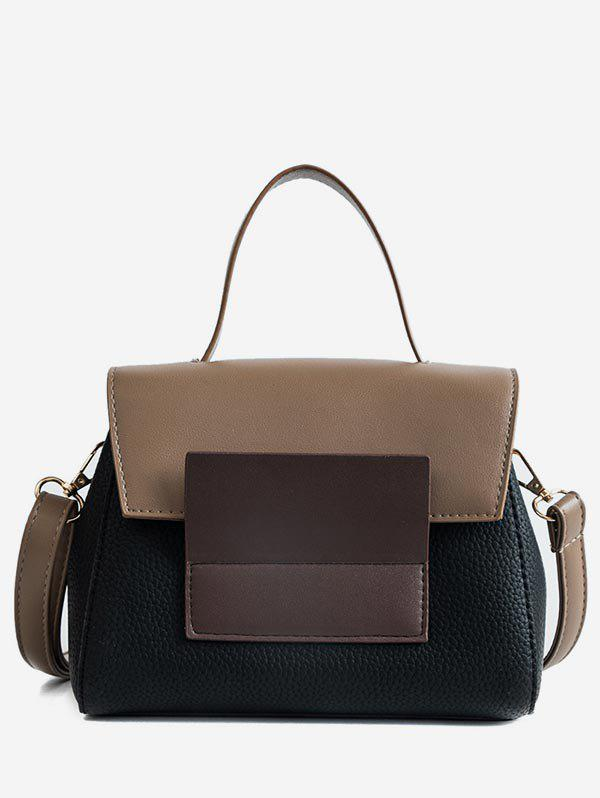 Chic Color Block Going Out Handbag