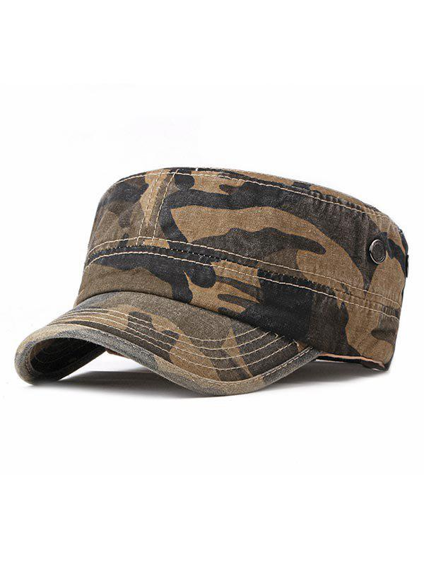 Discount Camouflage Wash Dyed Military Hat
