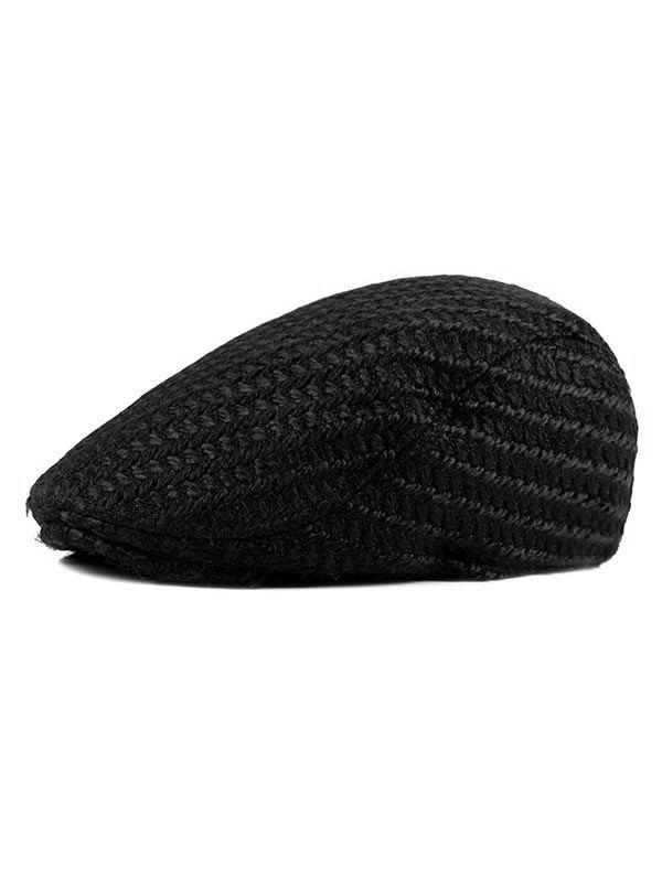 Buy Solid Color Knitted Jeff Hat