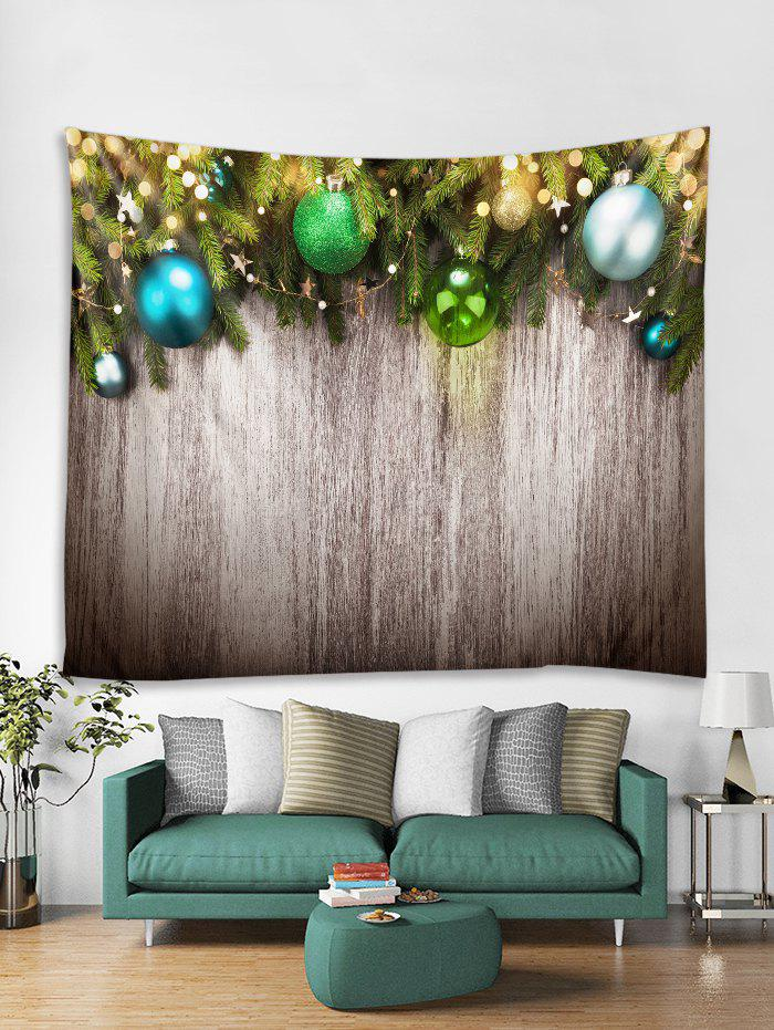 Shop Christmas Wooden Print Tapestry Art Decoration