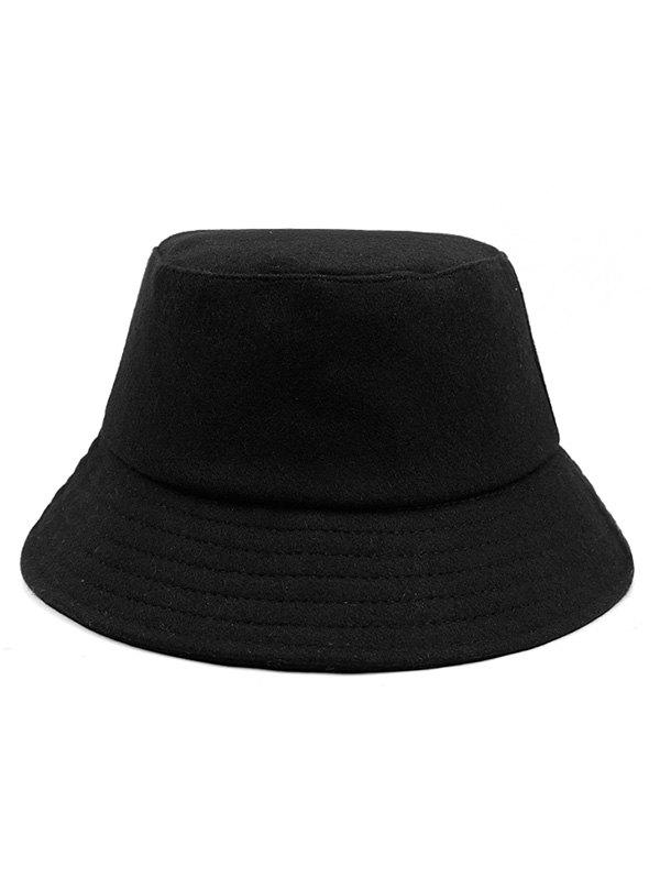 Outfits Solid Color Stripe Bucket Hat