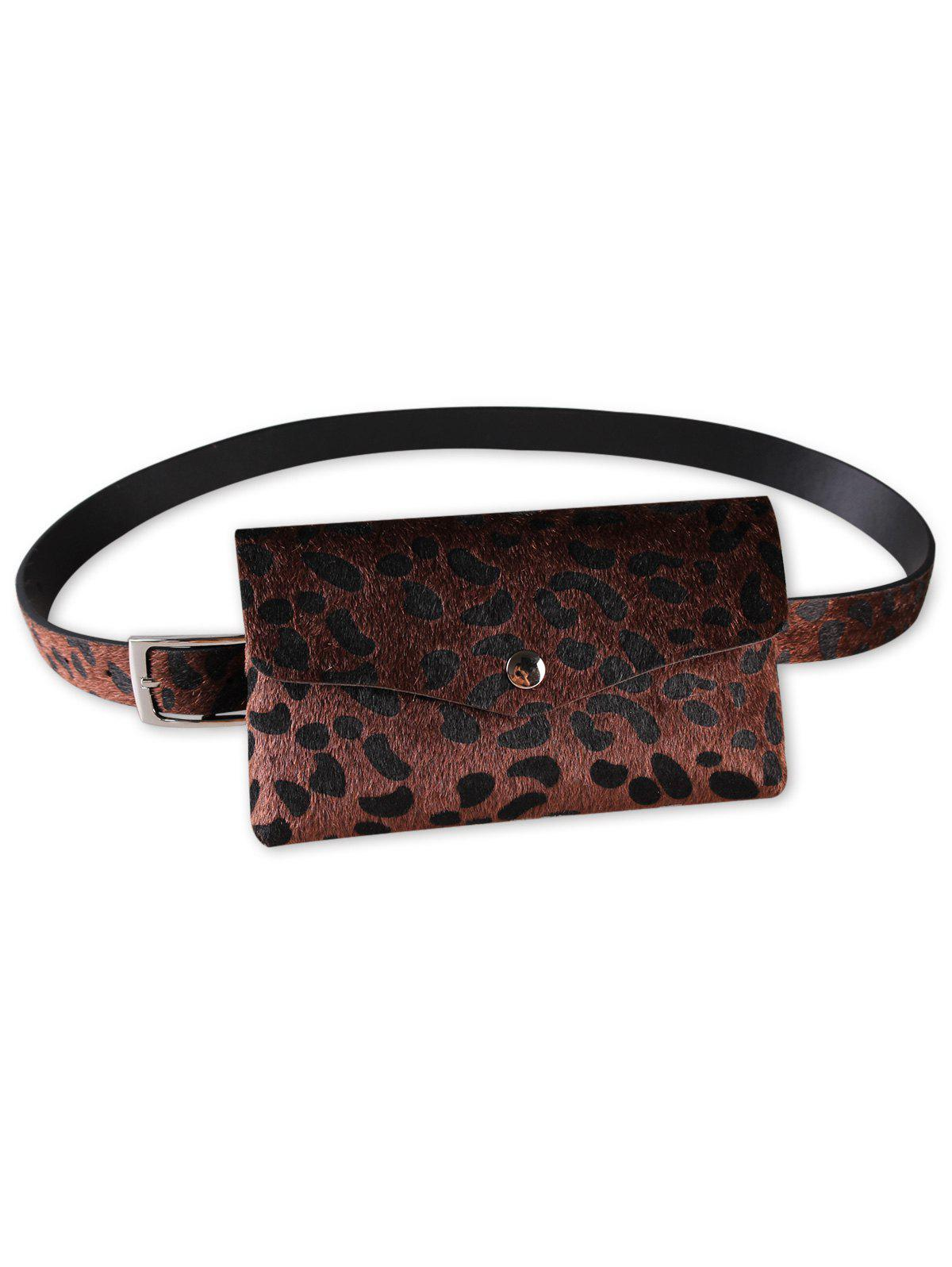 Fashion Leopard Patter Fanny Pack Waist Belt Bag