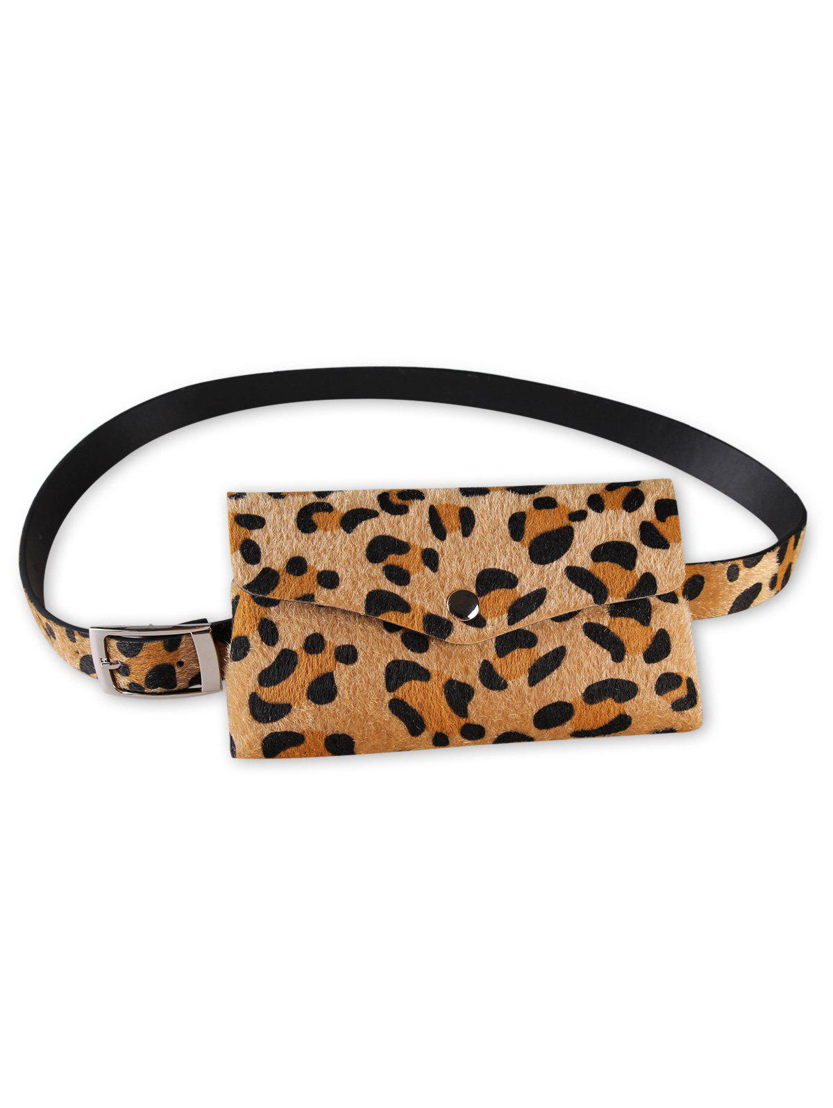 Chic Leopard Patter Fanny Pack Waist Belt Bag