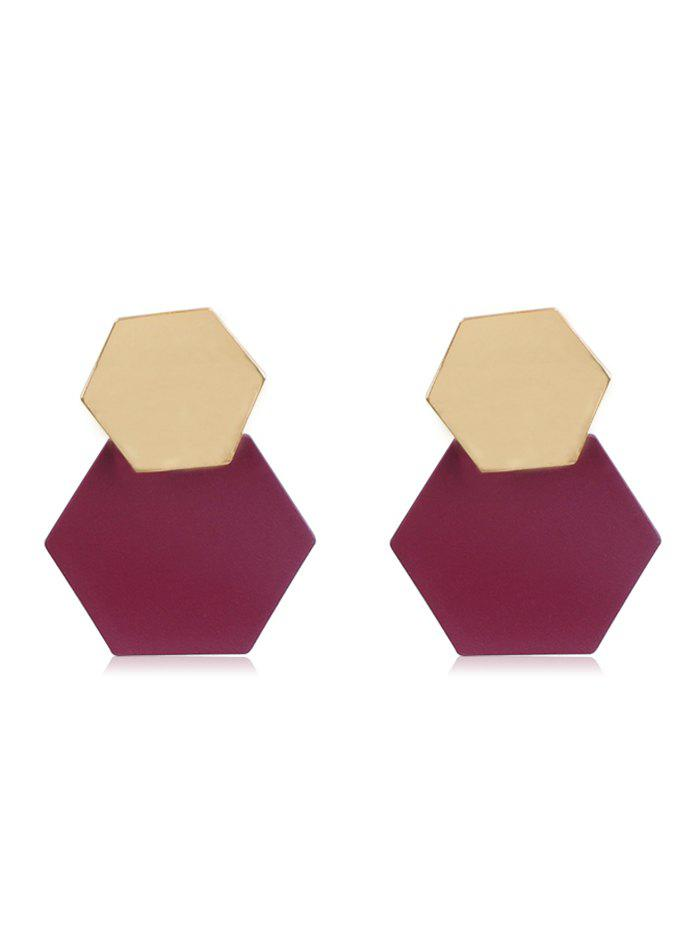 Store Irregular Geometry Alloy Earrings