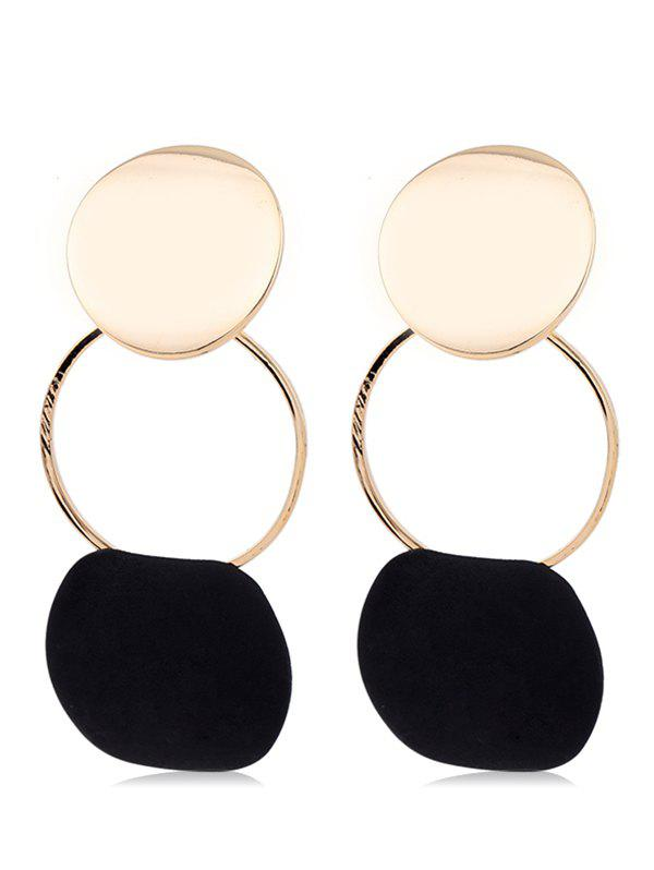Fashion Statement Alloy Geometric Drop Earrings