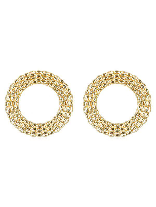 Outfits Statement Alloy Rounded Punk Earrings