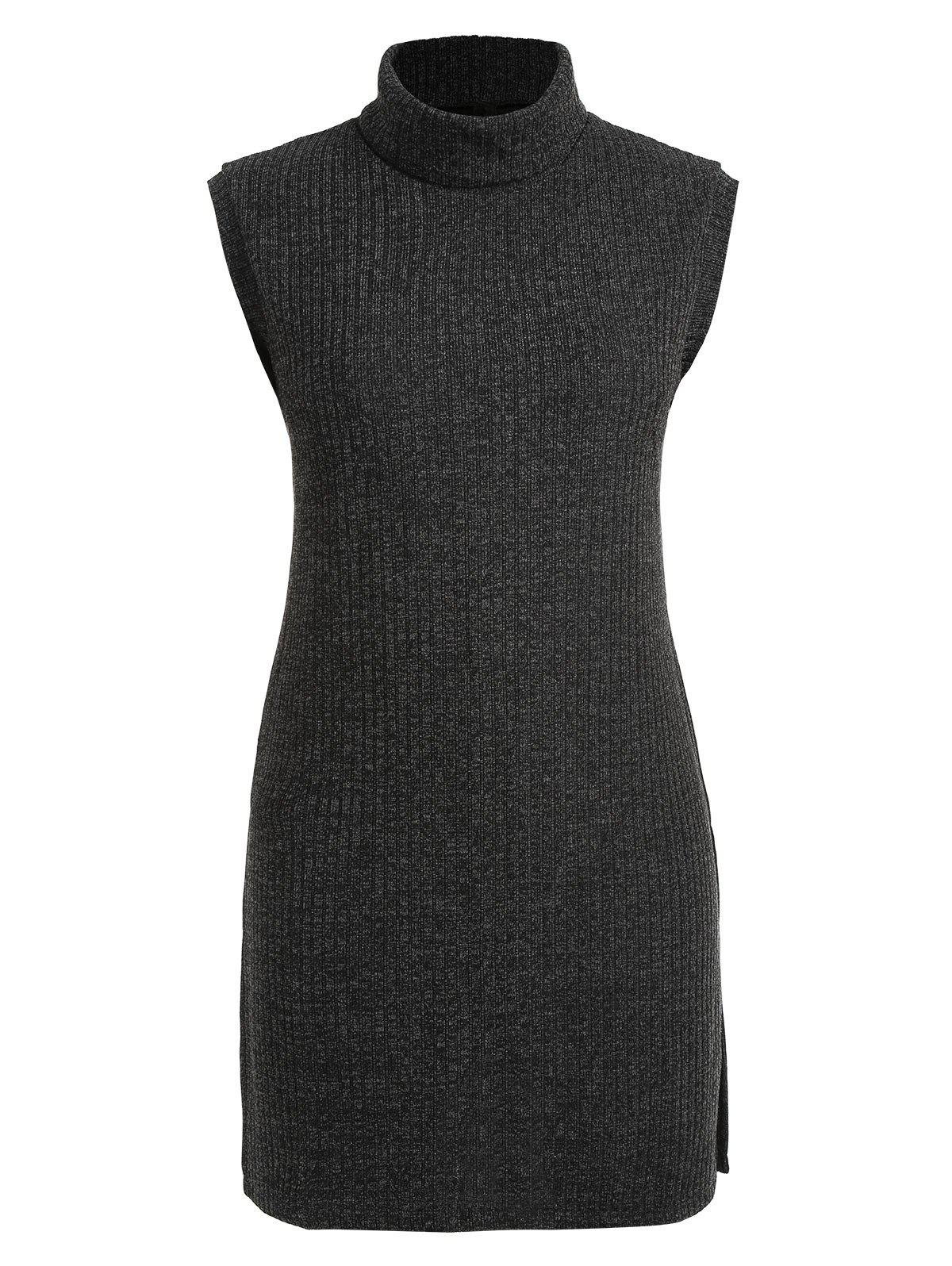 b6ef647306e Online Turtleneck Plus Size Knee Length Dress