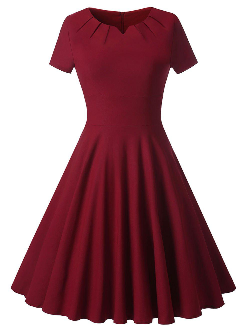 Latest Knee Length Vintage Cocktail Dress