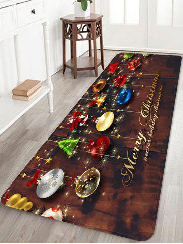Christmas Decorations Pattern Anti-skid Water Absorption Area Rug