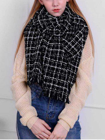 Stylish Plaid Oversized Warm Shawl Scarf