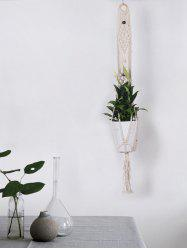 Bohemian Macrame Plant Hanger for Potted Plant -