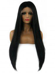 Middle Part Synthetic Long Straight Lace Front Wig -