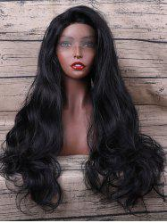 Long Synthetic Wavy Lace Front Wig -