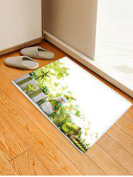 Christmas Gifts Balls Pattern Anti-skid Water Absorption Area Rug -
