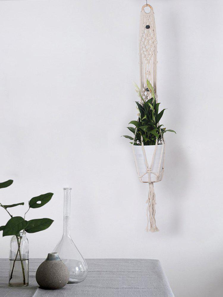 Cheap Bohemian Macrame Plant Hanger for Potted Plant