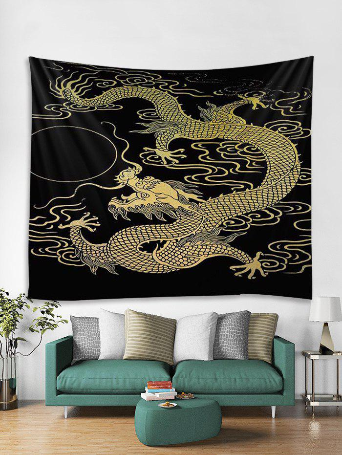 Online Dragon Pattern Tapestry Wall Hanging Decoration