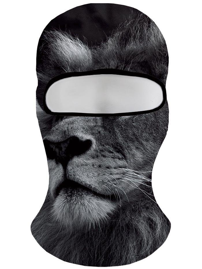 9b452b01f20 2019 Slouchy Lion Face Mask Windproof Hat