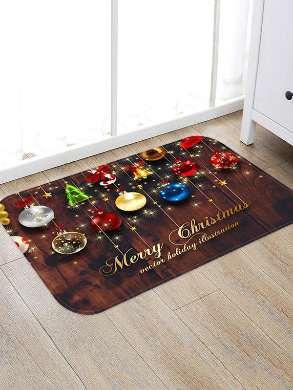 Outfit Christmas Decorations Pattern Anti-skid Water Absorption Area Rug