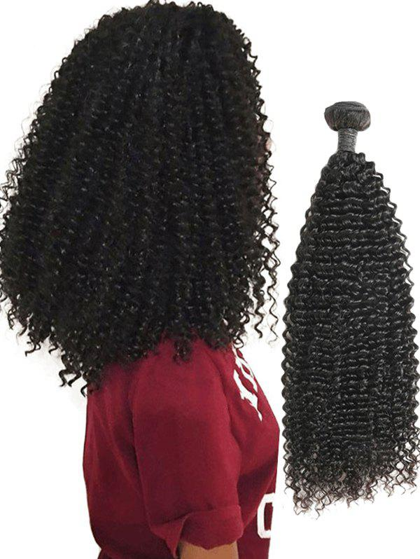Affordable Real Human Hair Kinky Curly Hair Weave