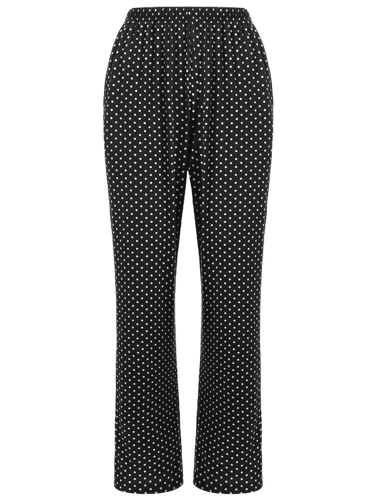 Shops Sleepwear Polka Dot Print Pants
