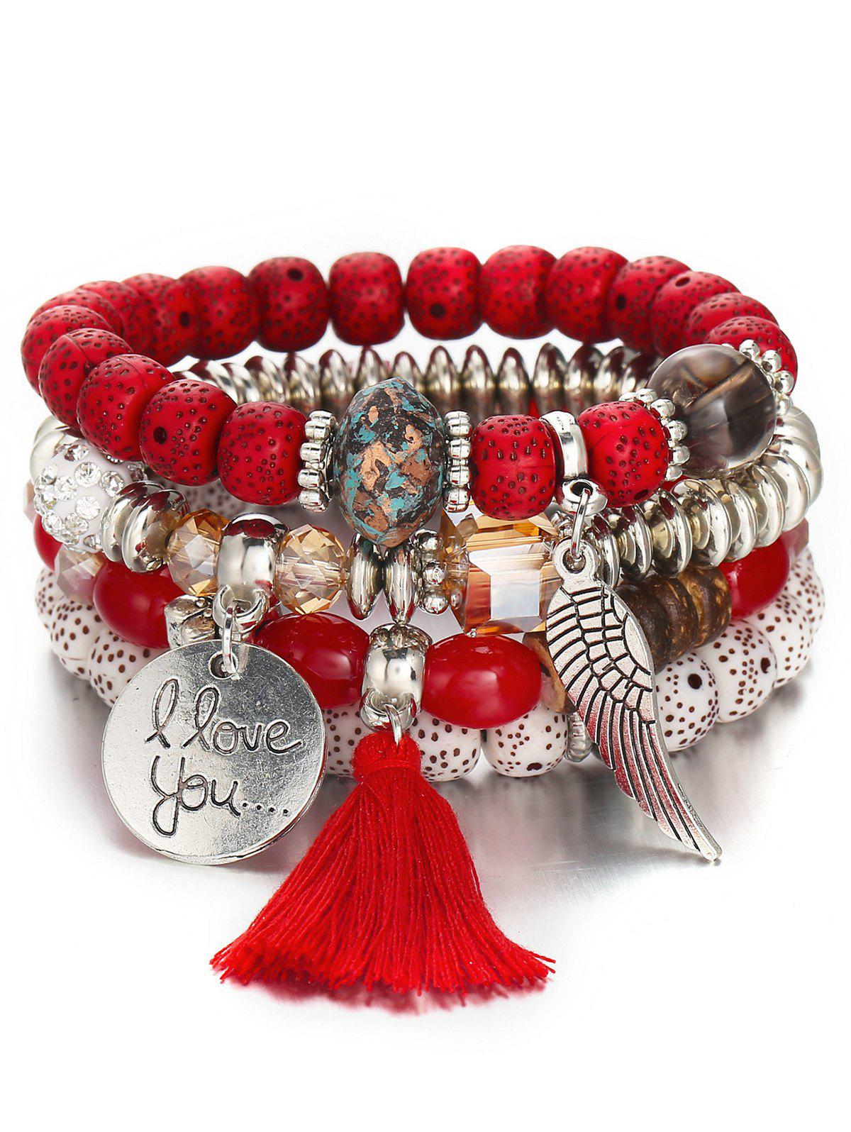 Best Bohemian Wing Beaded Bracelet Set