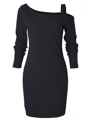 Long Sleeve Slim Knit Dress