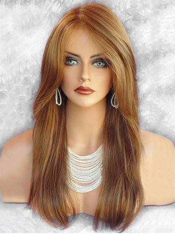 Long Side Bang Colormix Straight Party Synthetic Wig 7d17d96088