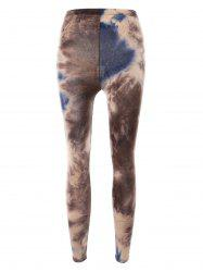 Smog Print Bodycon Leggings -