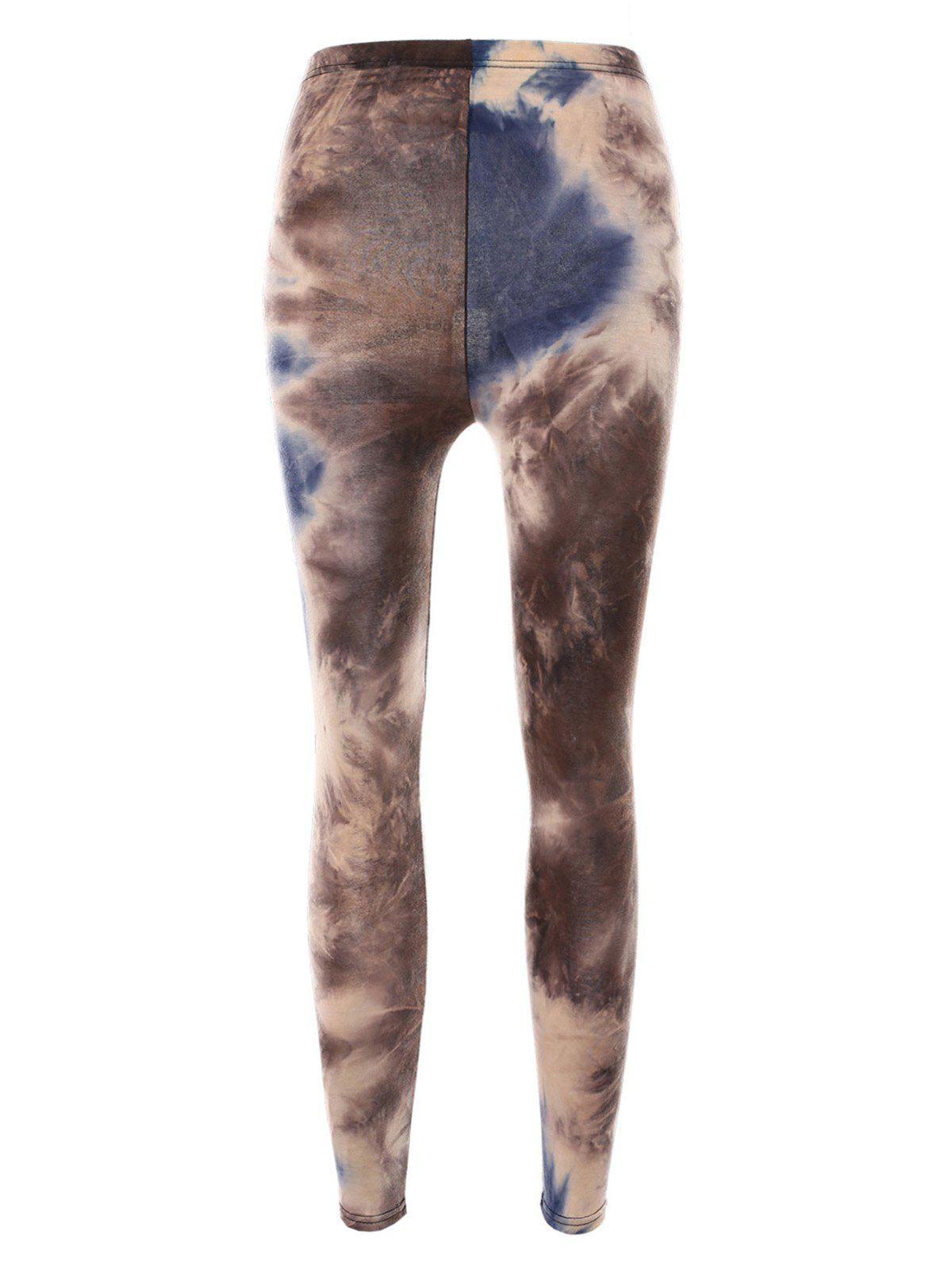 Affordable Smog Print Bodycon Leggings