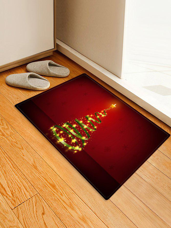 Shop Christmas Tree Printed Decorative Floor Mat
