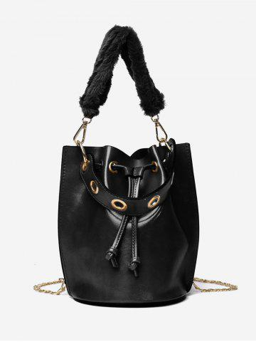 cd06164635 String Design Bucket Handbag