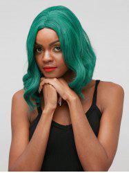 Medium Side Parting Natural Wavy Party Cosplay Synthetic Wig -