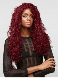 Long Free Part Wave Curly Synthetic Lace Front Wig -