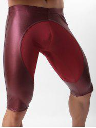Faux Leather Sport Fifth Pants -