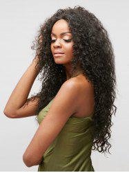 Long Free Part Curly Lace Front Heat Resistant Synthetic Wig -