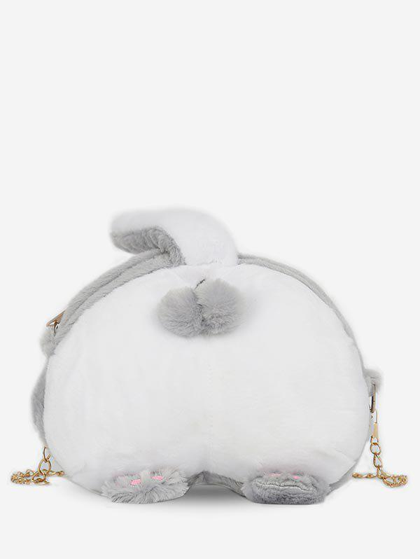 e5c708cf1 46% OFF] Animal Tail Pattern Artificial Fluffy Crossbody Bag | Rosegal