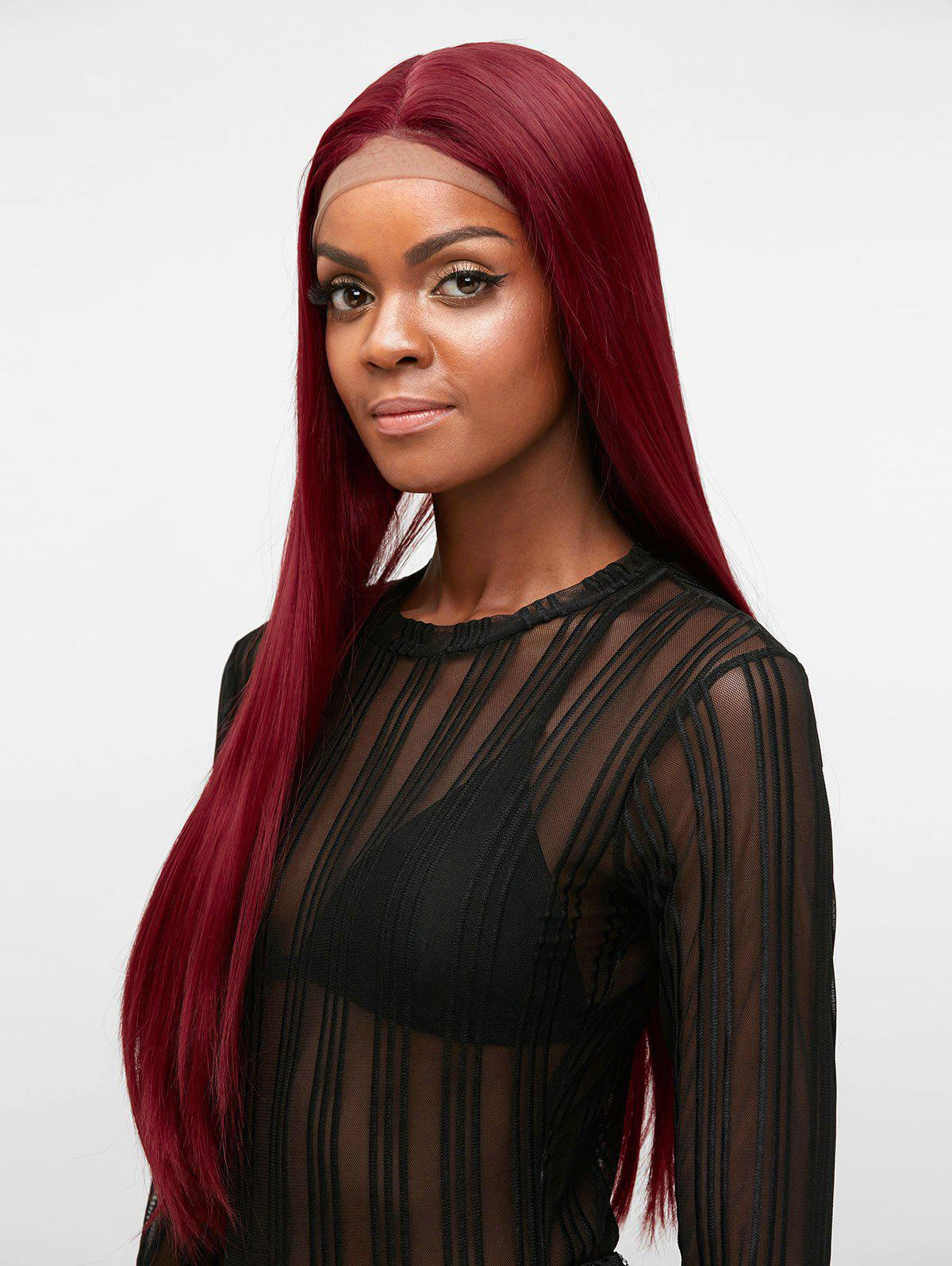 Shops Free Part Long Straight Party Synthetic Lace Front Wig