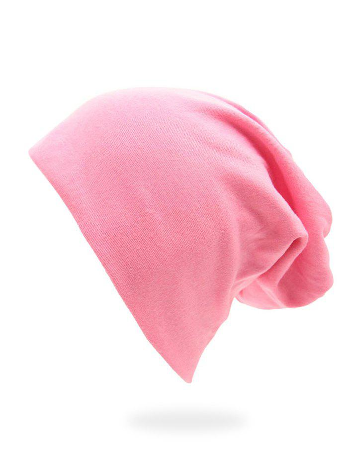Solid Color Casual Baggy Beanie