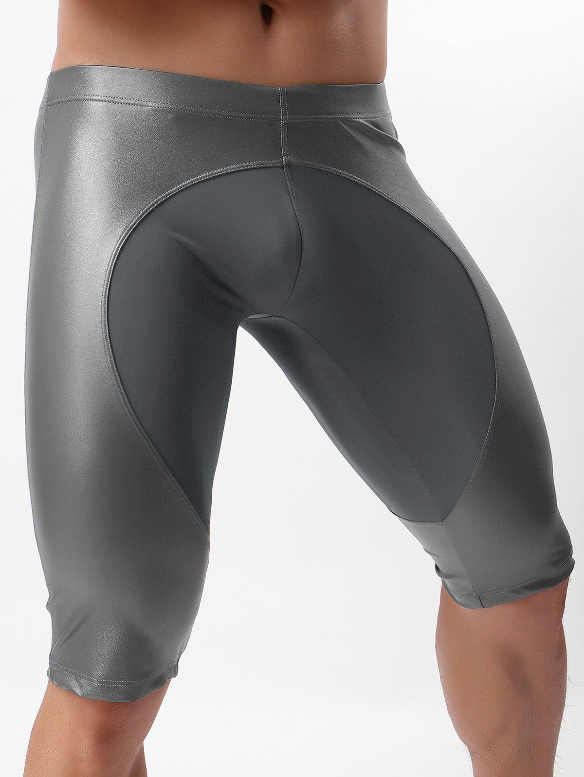Latest Faux Leather Sport Fifth Pants