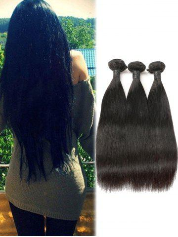 3Pcs Real Human Hair Brazilian Remy Straight Hair Weaves