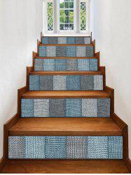 Woolen Printed Removable Stair Stickers -
