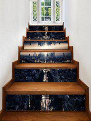 3D City Printed Removable Stair Stickers -