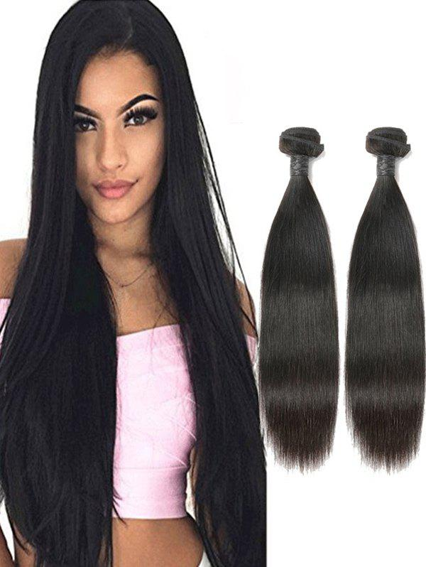 81 Off 2018 2pcs Peruvian Remy Human Hair Straight Hair Weaves In