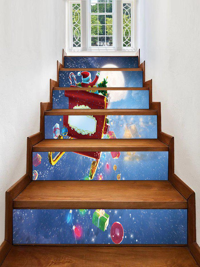 Best Father Christmas Gift Removable Stair Stickers