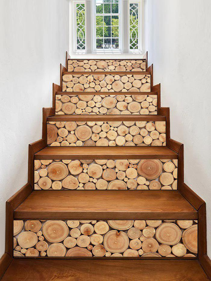 Best 3D Wooden Printed Removable Stair Stickers