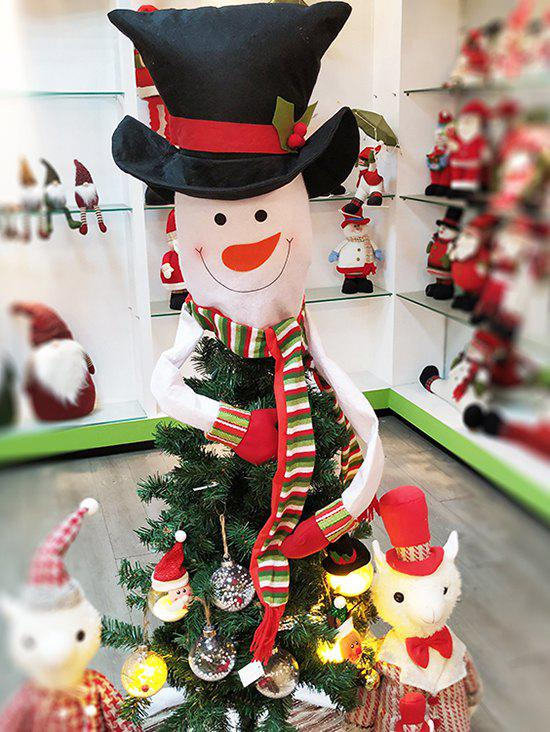 fancy hat snowman christmas tree decoration - Snowman Christmas Tree Decorations