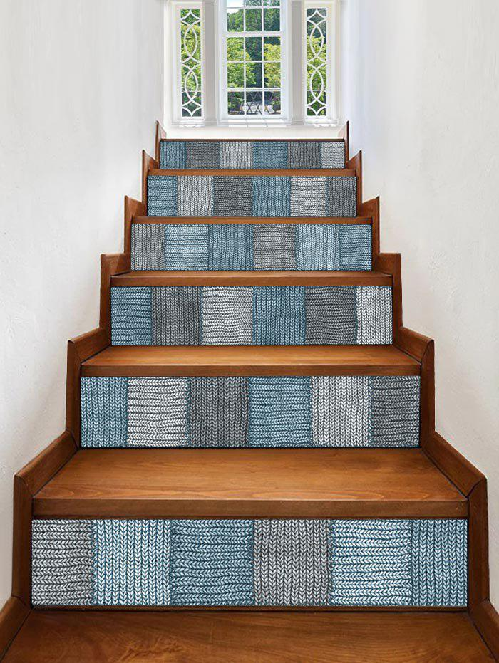 Hot Woolen Printed Removable Stair Stickers